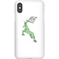 Green Rudolph Phone Case for iPhone and Android - iPhone XR - Snap Case - Matte