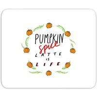 Pumpkin Spice Latte Is Life Mouse Mat - Pumpkin Gifts
