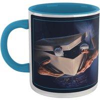 Gremlins Poster Mug - White/Blue