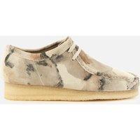 Clarks Originals Men's Wallabee Shoes - Off White Camo - UK 8