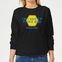 Blockbusters Can I Have A 'P' Please Bob? Women's Sweatshirt - Black - M - Black