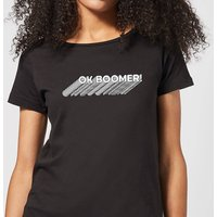 Ok Boomer Repeat Women's T-Shirt - Black - XXL - Black - Black Gifts