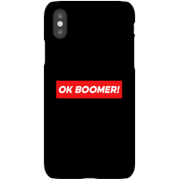 Ok Boomer! Block Phone Case for iPhone and Android - iPhone 8 - Snap Case - Matte