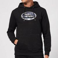 Family Fortunes Logo Hoodie - Black - XL - Black