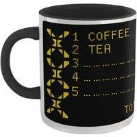 Family Fortunes Our Survey Said .... Coffee Mug - White/Black