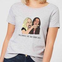 Millennials Are Such Snowflakes Women's T-Shirt - Grey - 3XL - Grey