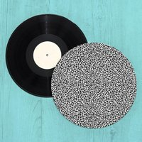 Blotted Squiggles Turntable Slip Mat
