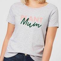 Plant Mum Script Women's T-Shirt - Grey - S - Grey