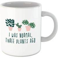I Was Normal Three Plants Ago Mug