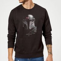 The Mandalorian Poster Sweatshirt - Black - 5XL - Black - Poster Gifts