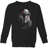 The Mandalorian Poster Kids' Sweatshirt - Black - 11-12 Years - Black - Poster Gifts