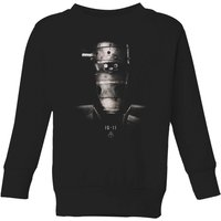 The Mandalorian IG-11 Poster Kids' Sweatshirt - Black - 11-12 Years - Black - Poster Gifts