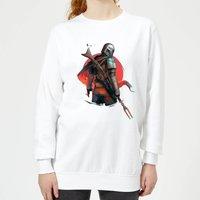 The Mandalorian Blaster Rifles Women's Sweatshirt - White - M