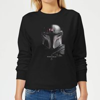 The Mandalorian Poster Women's Sweatshirt - Black - XXL - Black - Poster Gifts