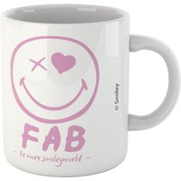 Fab Pink Smiley Mug - Smiley Gifts