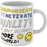 Positive Message Smiley Mug - Smiley Gifts
