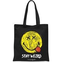 Stay Weird Tote Bag - Black - Weird Gifts