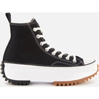 Converse Run Star Hike Hi-Top Trainers - Black/White/Gum - UK 3
