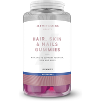 Hair, Skin and Nails Gummies - 30servings - Blueberry