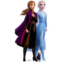 Disney Frozen 2 Anna & Elsa Lifesized Carboard Cut Out