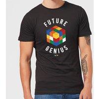 Future Genius Mens T-Shirt - Black - 3XL - Schwarz