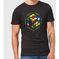 Solve It! Mens T-Shirt - Black - 5XL - Black