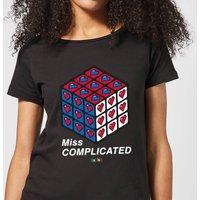 Miss Complicated Love Cube Women's T-Shirt - Black - L - Black
