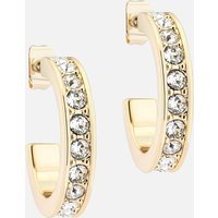 Ted Baker Women's Seanna: Small Crystal Hoop Earring - Gold/Crystal