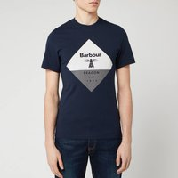 Barbour Beacon Mens Diamond T-Shirt - Navy - XXL