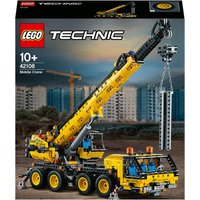 LEGO Technic: Mobile Crane Truck Toy (42108) - Toy Gifts