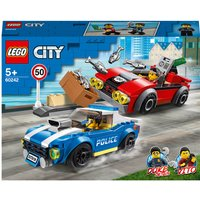 LEGO City: Police Highway Arrest Cars Toy Set (60242) - Toy Gifts