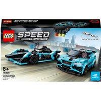 LEGO® Speed Champions: Formula E Panasonic Jaguar Racing GEN2 car & Jaguar I-PACE eTROPHY (76898)