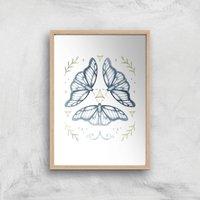 Fairy Dance Art Print - A2 - White Frame - Dance Gifts