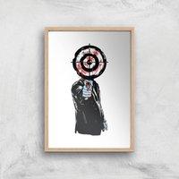 The Revenge Art Print - A2 - Wood Frame