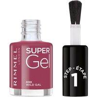 Rimmel Super Gel Nail Polish 12ml (Various Shades) - Wild Gal