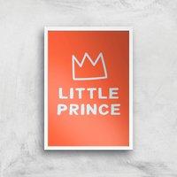 Little Prince Art Print - A3 - White Frame