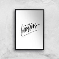 PlanetA444 Limitless Art Print - A3 - Black Frame