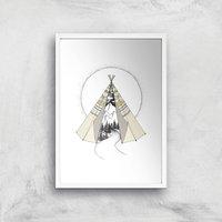 Into The Wild Art Print - A4 - White Frame