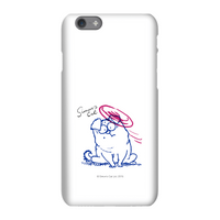 Simons Cat Bumped Head Phone Case for iPhone and Android - iPhone 8 - Tough Case - Matte