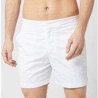 Frescobol Carioca Men's Classic Short Swim Short - White - L