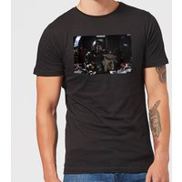 The Mandalorian Pilot And Co Pilot Mens T-Shirt - Black - L - Black