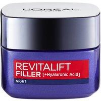 L'Oréal Paris Revitalift Filler and Hyaluronic Acid Anti-Ageing Night Cream 50ml