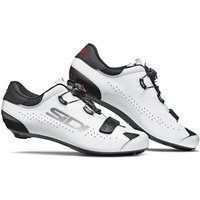 Sidi Sixty Road Shoes - Black/White - EU 46
