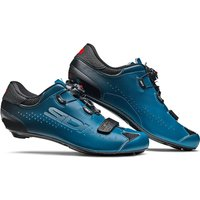 Sidi Sixty Road Shoes - Black/Petrol - EU 42