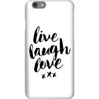 The Motivated Type Live Love Laugh Phone Case for iPhone and Android - iPhone 5C - Tough Case - Glos