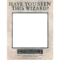 Harry Potter White Wanted Selfie Frame Poster with Props - Poster Gifts