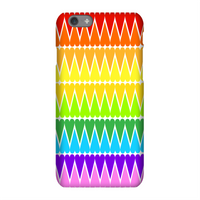 Rainbow Heart Phone Case for iPhone and Android - iPhone X - Tough Case - Matte
