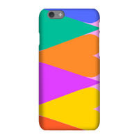 Giant Rainbow Hearts Phone Case for iPhone and Android - iPhone XS - Snap Case - Matte