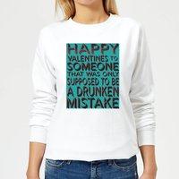 Drunken Mistake Women's Sweatshirt - White - XXL - White
