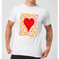 I Love You But Not As Much As ... Men's T-Shirt - White - 3XL - White